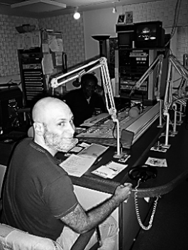 Fig. 10: Bill in the WBAI studio. Recently, he has revived  MORC  as a podcast,  Countervortex .