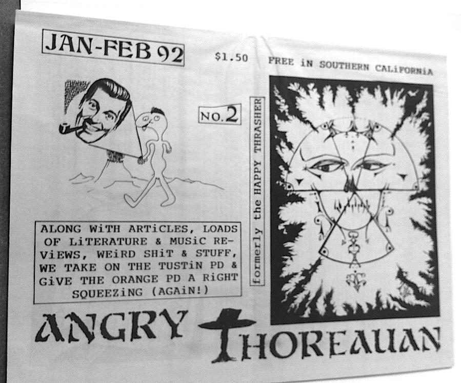 Angry Thoreauan