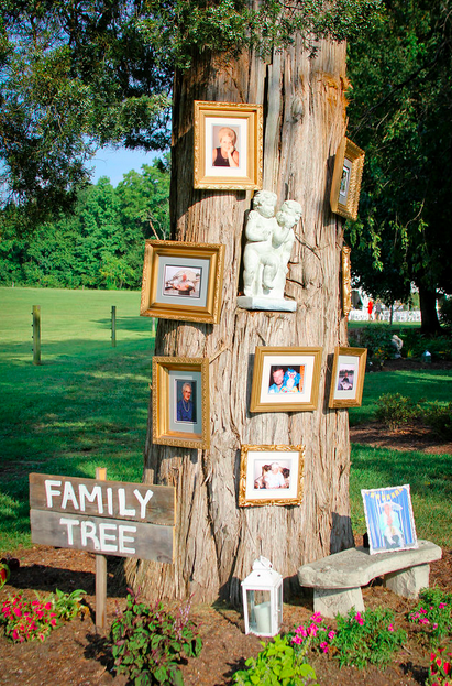 Dellwood Plantation Wedding_Family Tree