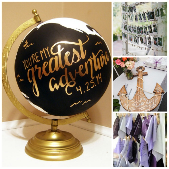 Creative Wedding Guest Book Alternatives — Dellwood Plantation ...