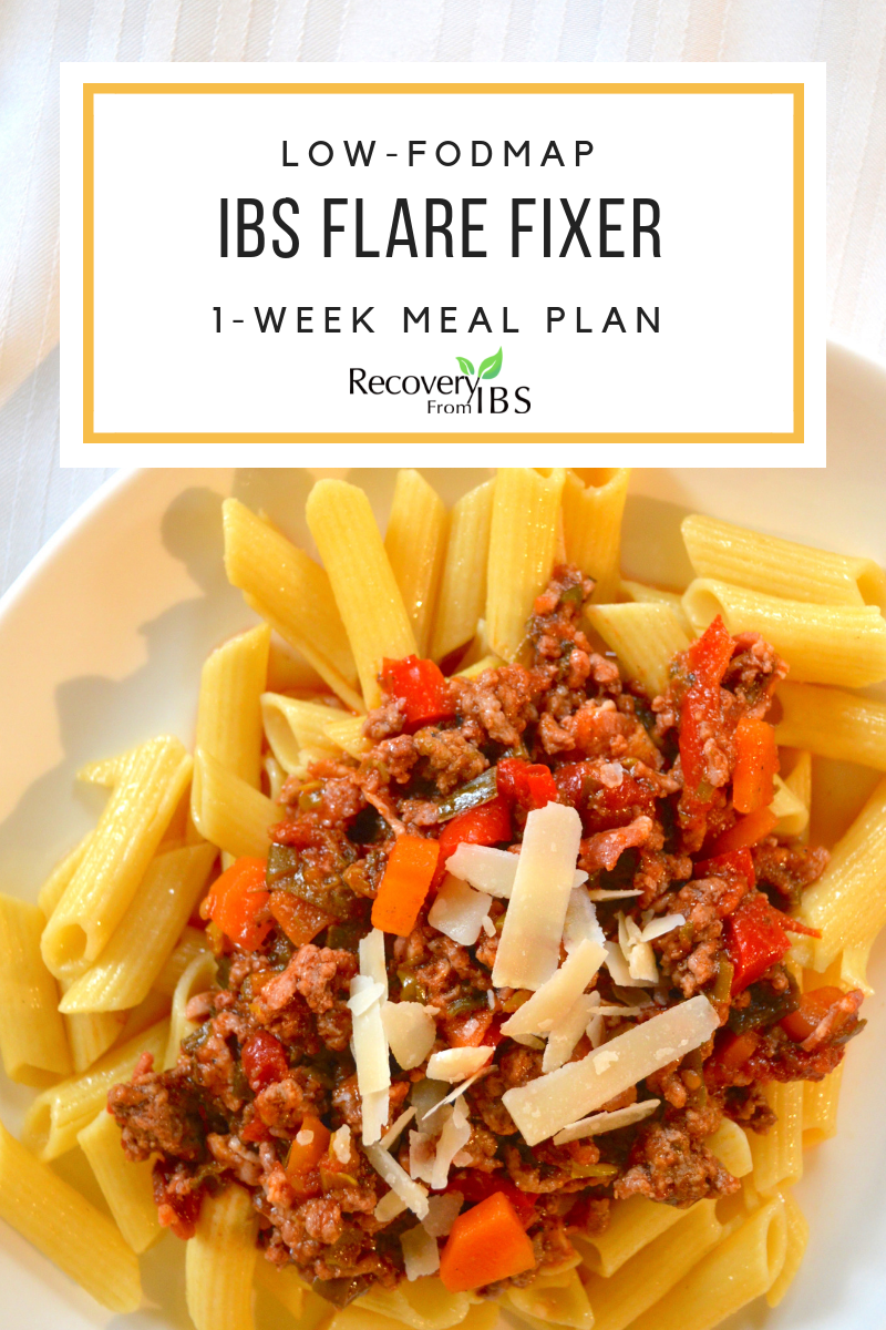 Bonus! - Don't miss my FREE one-week 'IBS Flare Fixer' meal plan! It's low-FODMAP, nutrient-dense, easy, and delicious! It's your ticket to try Low-FODMAP (done right) without having to figure it all out first. It'll have you feeling better inside of a week!