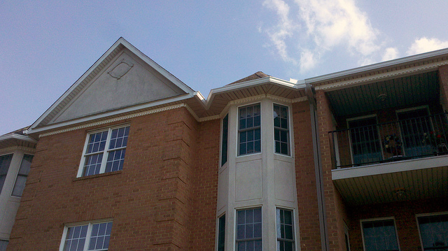 Commercial gutters and downspouts in Woodsboro, Maryland