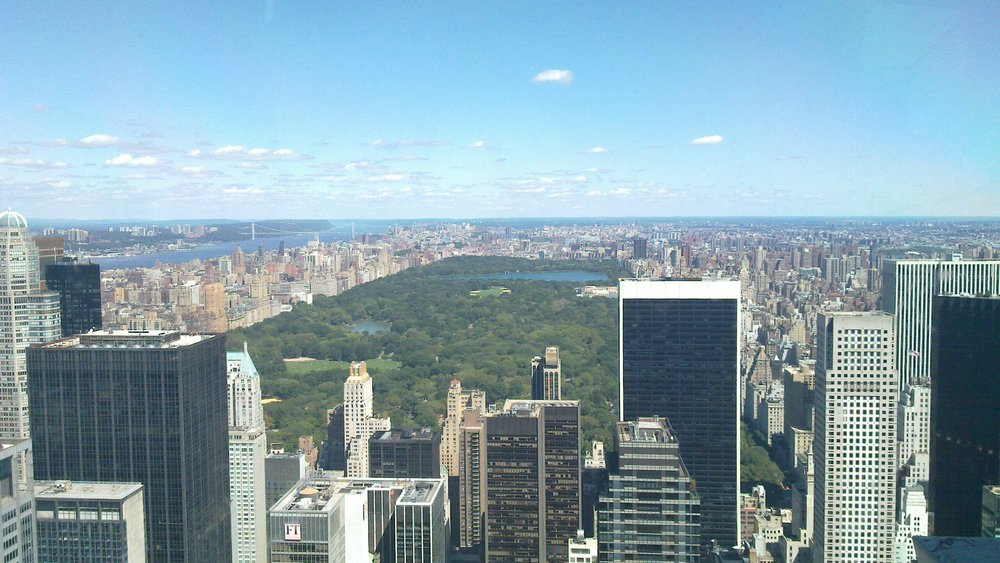 TopOfTheRock-Central Park