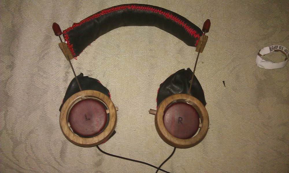 finished headphones