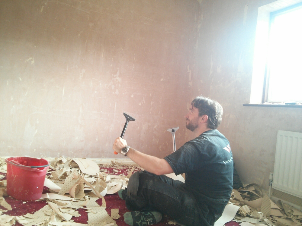 Zen and the art of wallpaper removal