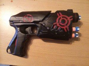 Custom paint job for a Nerf sharpshot