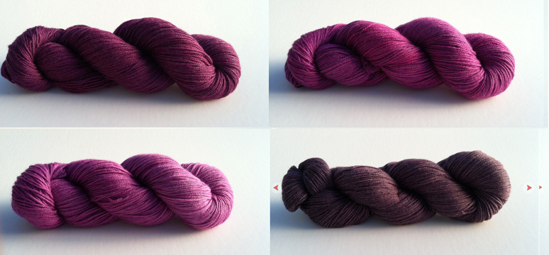 amethyst fuchsia aubergine violet