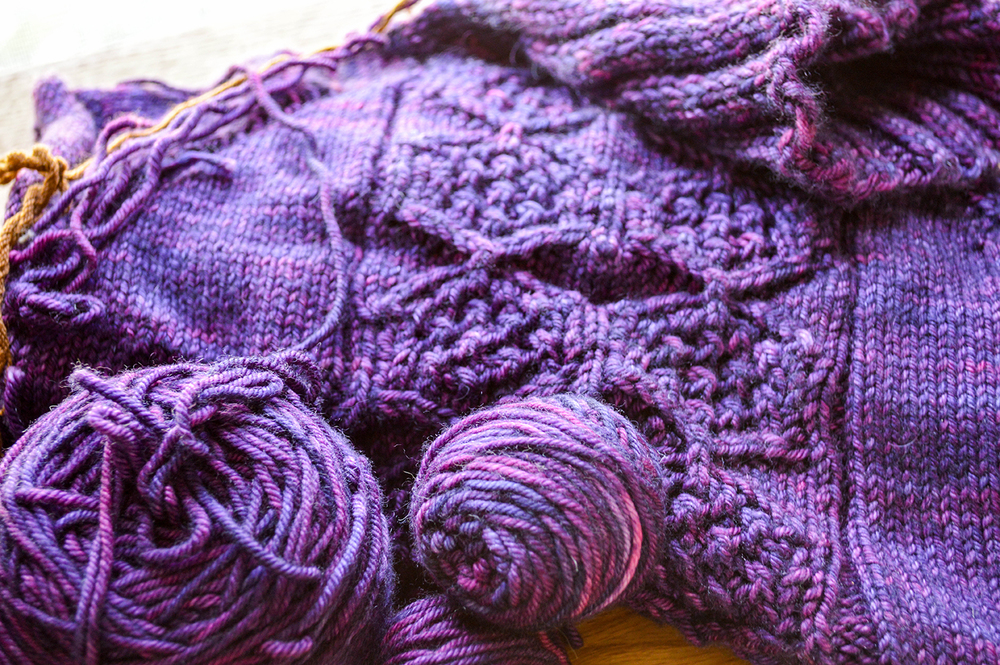 Madelinetosh 80/10/10 MCN Worsted in Flashdance