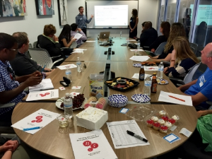 Brendan and Leah lead our Candidate Seminar,  A Recruiter's Perspective  (May and July 2015).