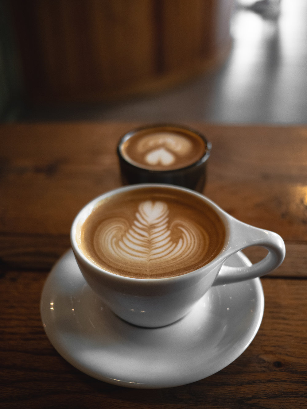 Our coffee is locally roasted and our baristas are carefully trained to pour you the best cup