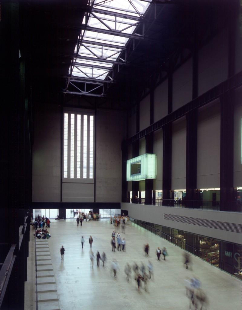 Turbine Hall, Tate Modern, Herzog & de Meuron (architects), 2000