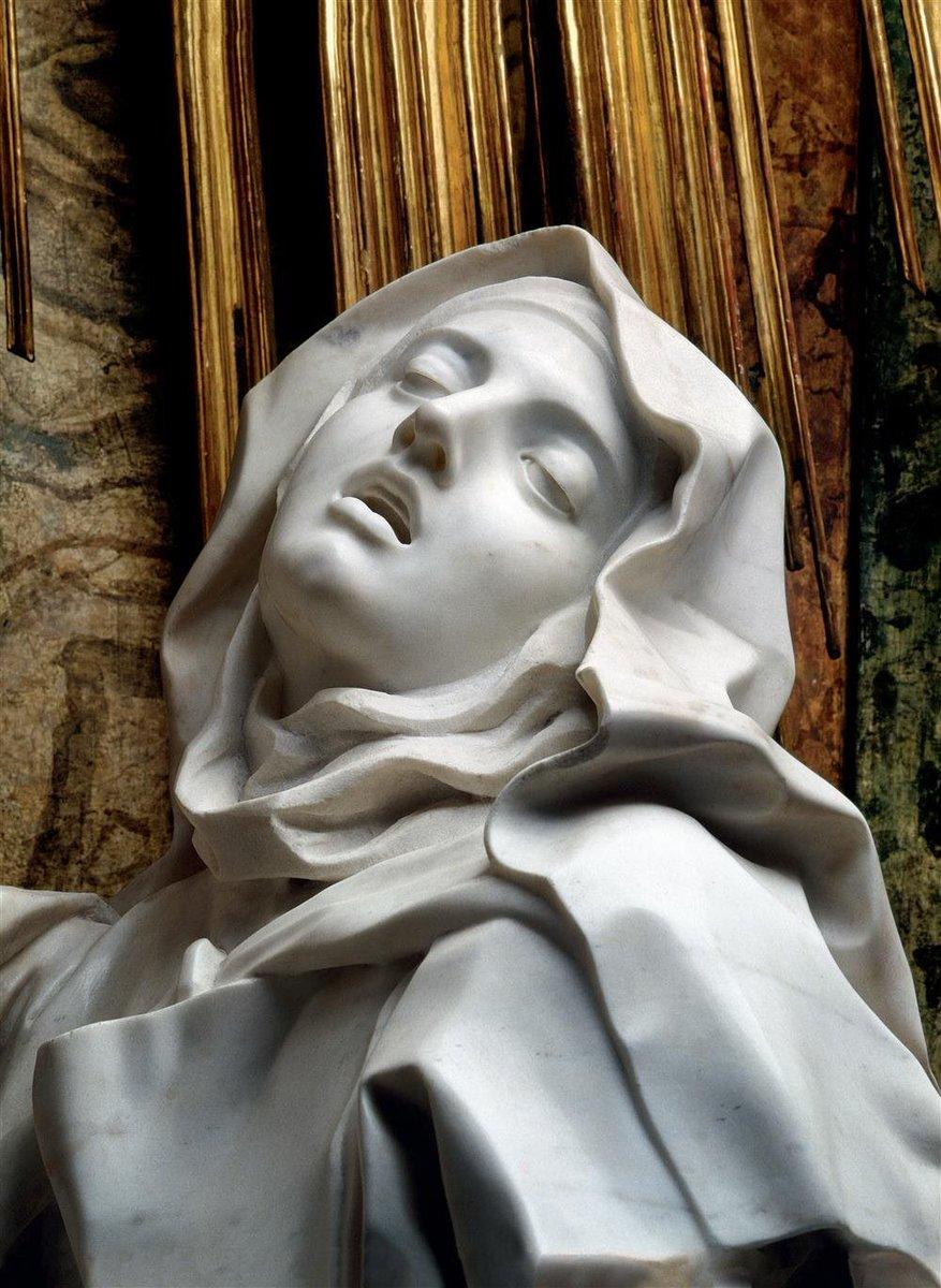Ecstasy of Saint Teresa, Gian Lorenzo Bernini, Marble, 1647–1652