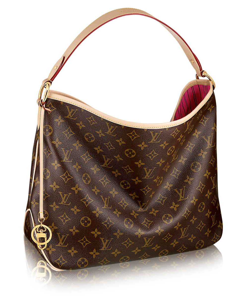 Delightful Monogram MM Handbag, Louis Vuitton, canvas, 2017