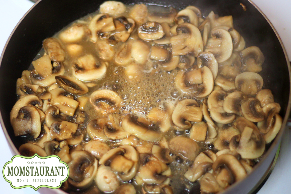 how to sweat out mushrooms