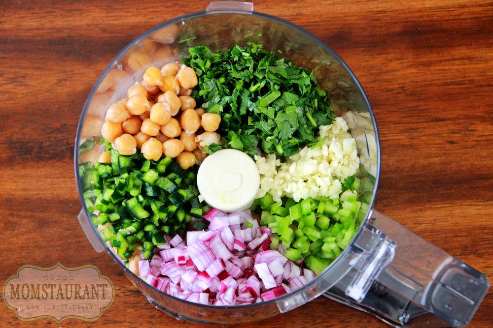 how to make falafels