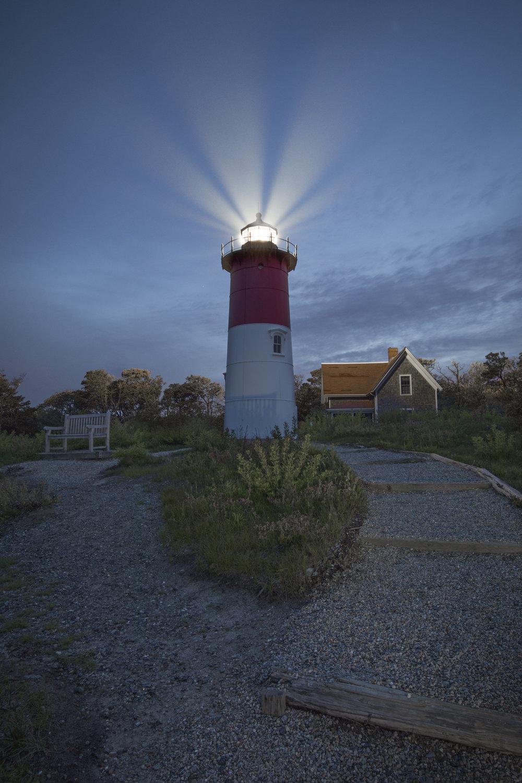 Nauset Light at Twilight