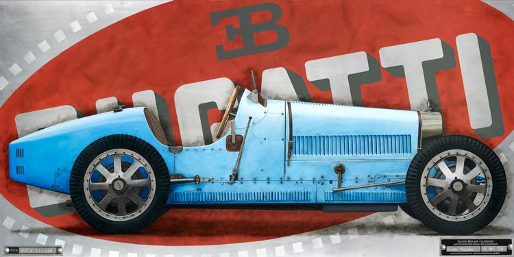 Bugatti Type 35 Direct to Media print