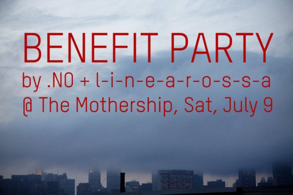 NOoSPHERE Arts  and  linearossa  Present:   .NO SWEET .NO  BENEFIT PARTY:   September 17, 2011