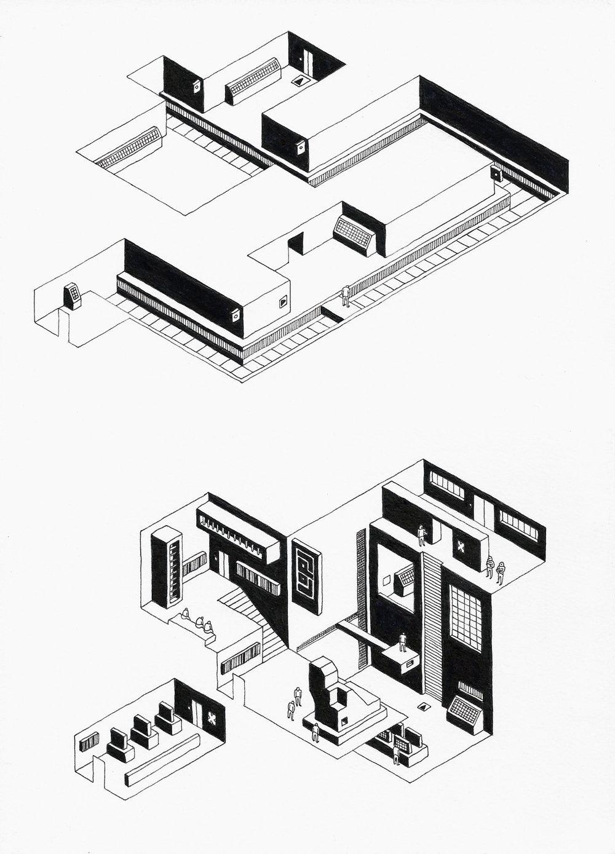 Kirkeboe_kayarne_3_abstract_sculpture_ink_on_paper_11,7x8,3_in.jpg