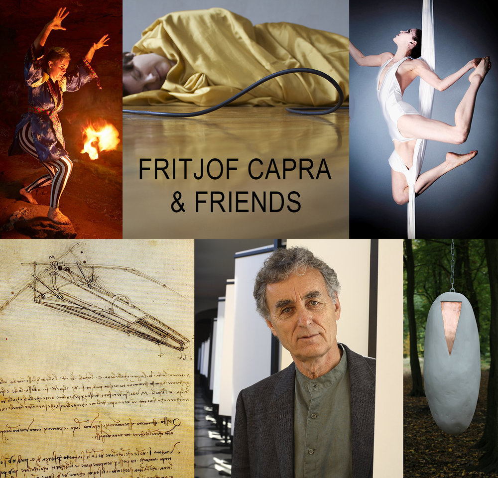 "FRITJOF CAPRA & FRIENDS - Tue, October 9, 7:30 pm @ Last Frontier NYCOur Honorary Scholar-in-Residence, Fritjof Capra, Scientist/Author/Educator/Activist,premieres for our salon his slide talk ""Leonardo da Vinci and the Dream of Flying"" ,accompanied by Mothership artists:- Megan Hornaday, Aerialist/Dancer (NYC) - Marie-Louise Jones , Visual Artist (London) - Kirsty Whiten, Visual Artist (Edinburgh) - Marianne Skjeldal, Dancer/Choreographer/Performance Artist (Oslo)"