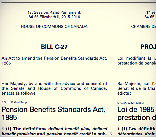 http://www.parl.gc.ca/HousePublications/BillC-27  (First Reading)