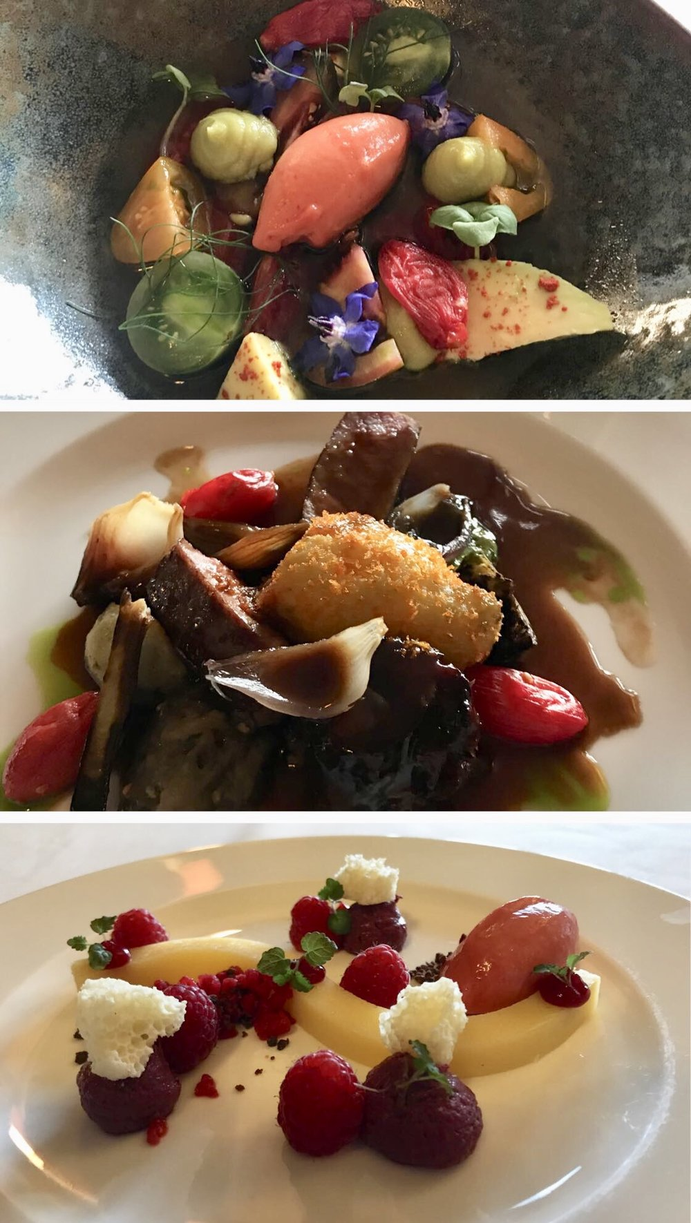 Some of head-chef Graeme's masterpieces.