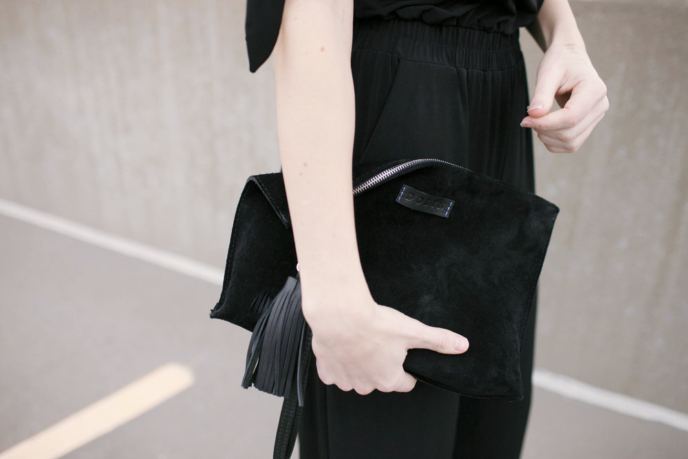 The Sarah Clutch by Ami Beck of Dolyn Bags   Photo by Andrea Larson