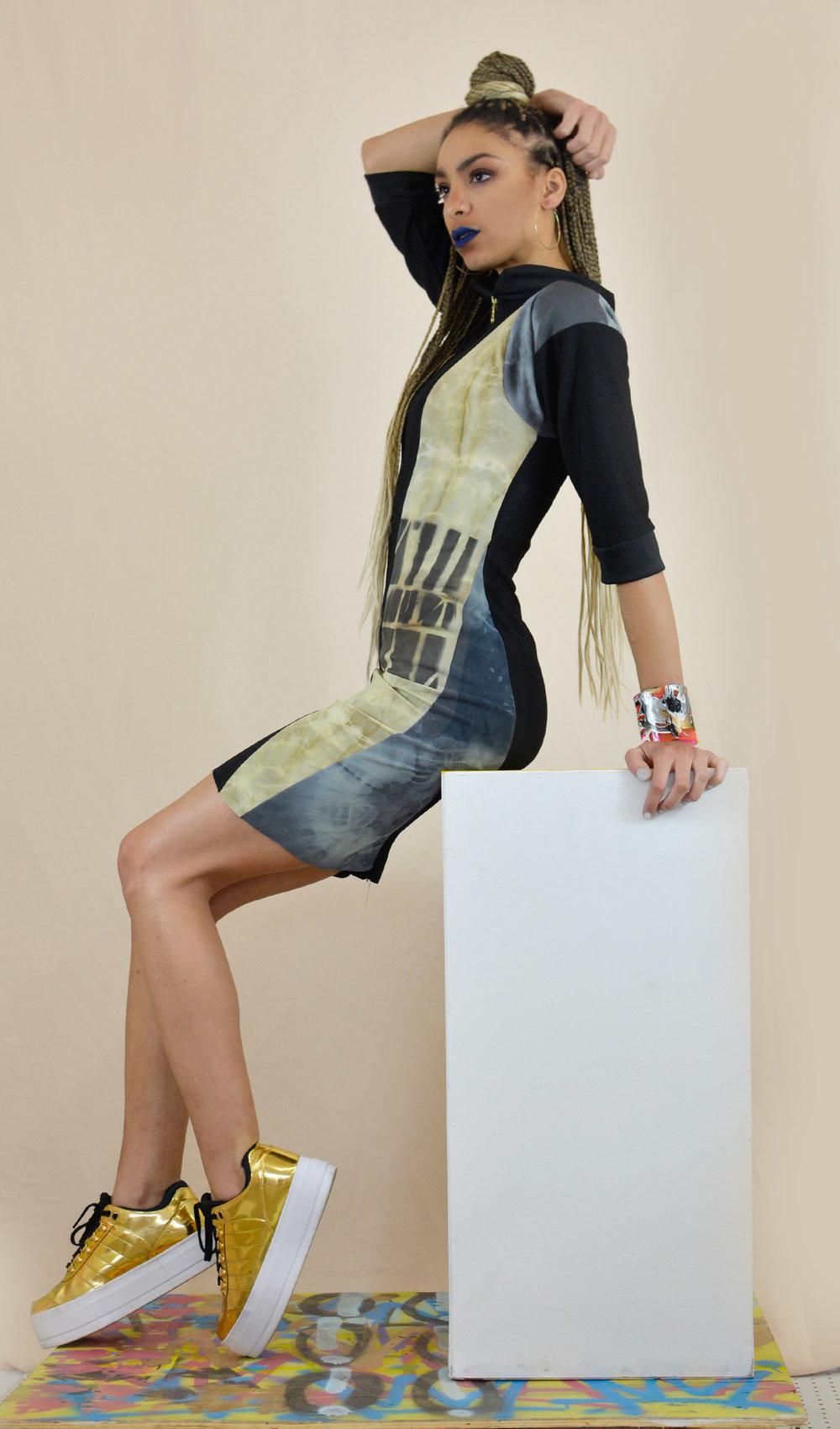 WM x Rightfully Sewn Bodycon Dress by Whitney Manney