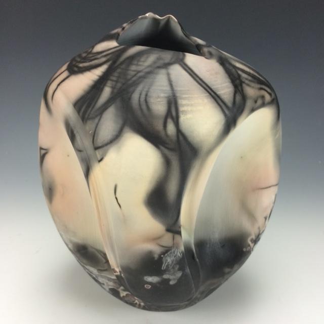Jill Fishon-Kovachick, Porcelain Sagger Vessel