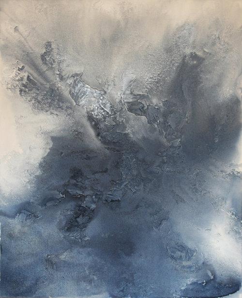 Indigo Exhale by Teodora Guererra