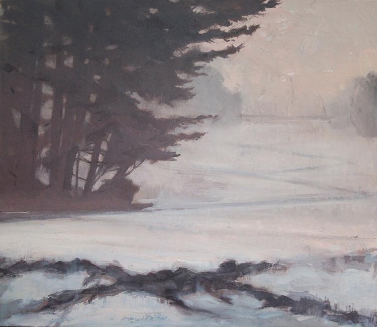 Pinewood Mist by Miranda Girard