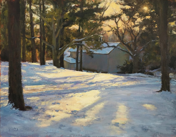 Winter Shadows by Susan Jositas