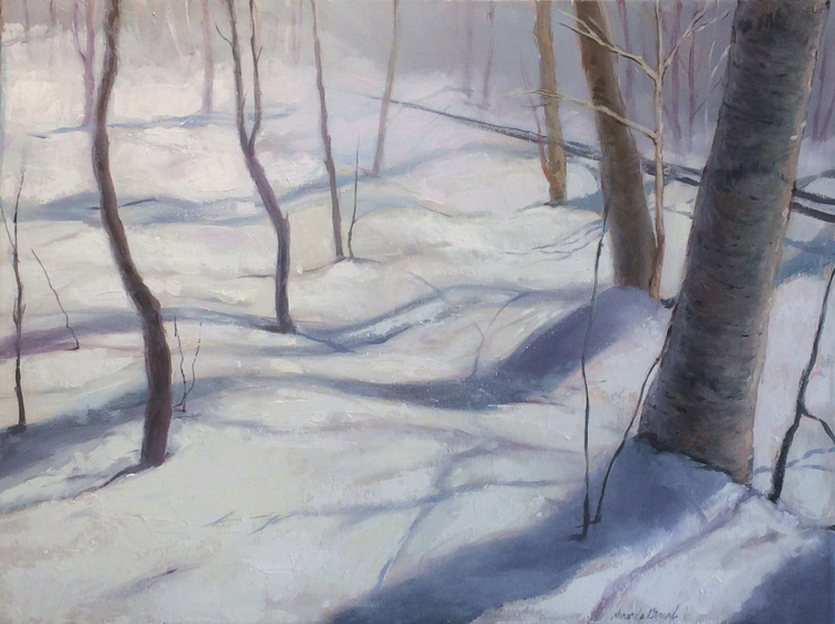 Vermont Snowscape No. 1 by Miranda Girard