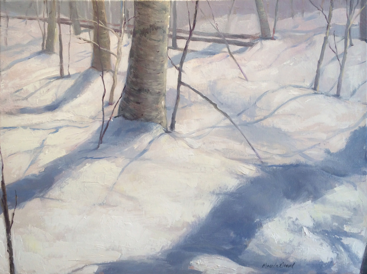 Vermont Snowscape No. 2 by Miranda Girard