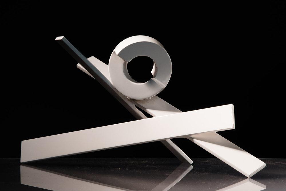 SYOSSET EDITION WHITE  $1,800.00  (2010) Aluminum  SKU: RLO008 | 8.5 x 16.5 x 10.5
