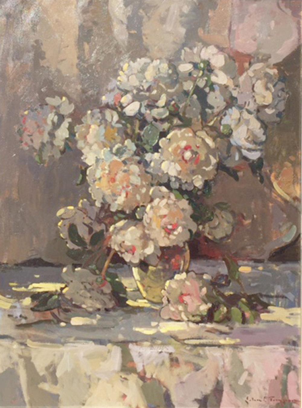 My Garden Peonies by John C. Traynor