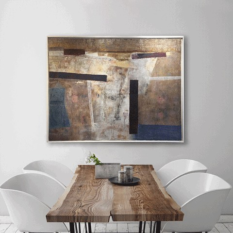 Searching for art and don't know where to start? Email us a photo of your space with wall measurements and our Art Advisors will send you a few options to consider adding to your art collection.   info@sorellegallery.com.