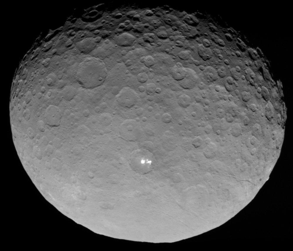 Ceres | Image credit: NASA/JPL-Caltech/UCLA/MPS/DLR/IDA
