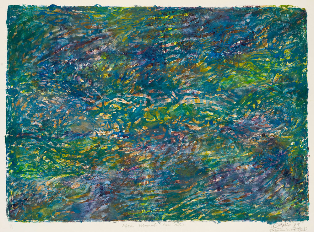 After Monet: River Notes