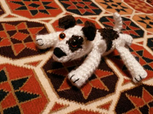 The very first Nattypat Crochet creation
