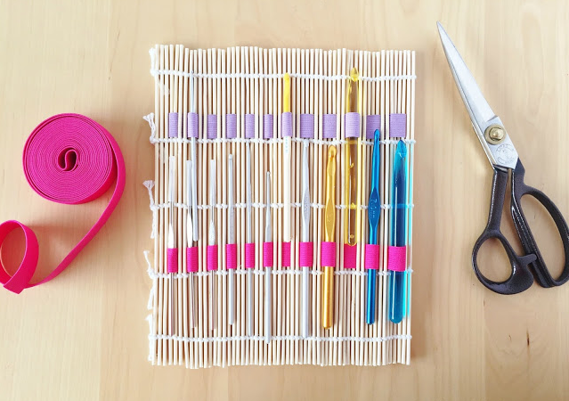 The Diy Crochet Hook Holder You Can Make Without A Sewing Machine