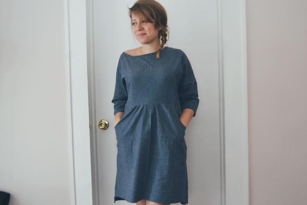 Sewing Stitches Fen Dress Abby Goodman Knits