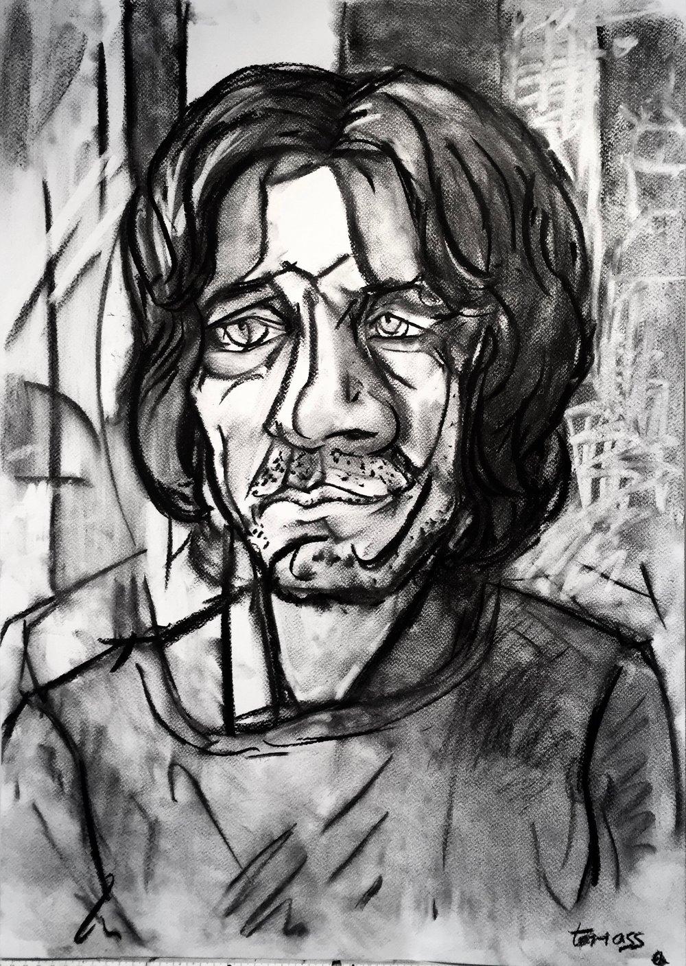 John  \  Charcoal Study 1