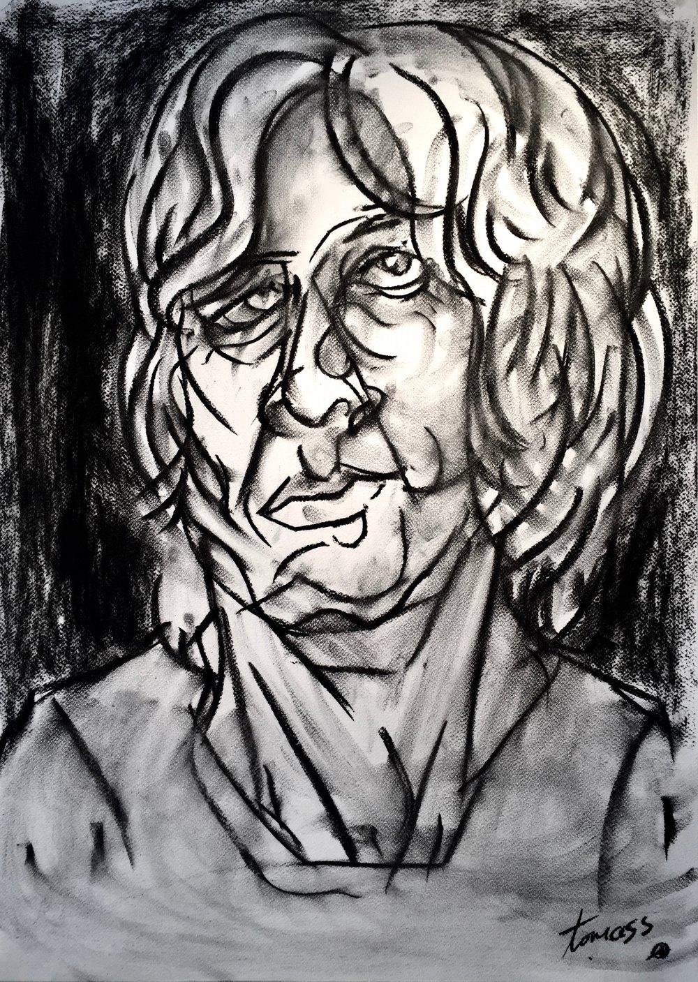 John  \  Charcoal Study 2