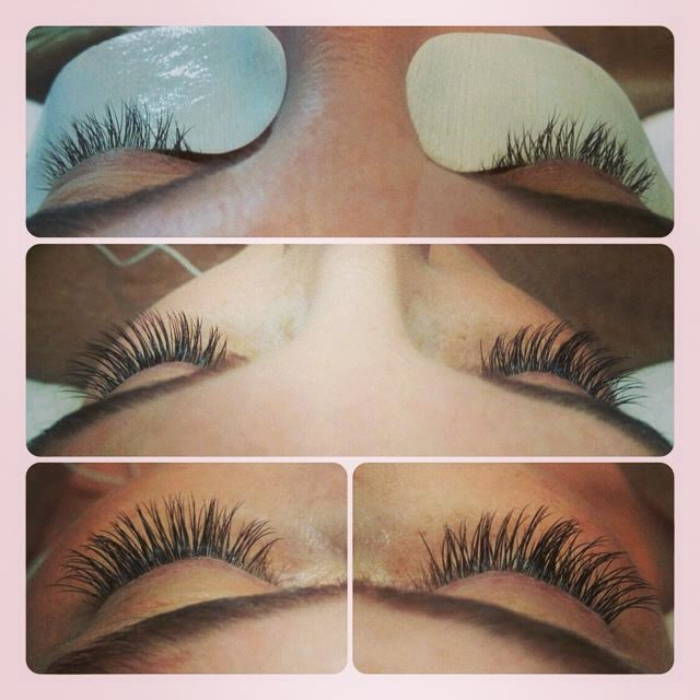 Full set by Yukari, 80-90 lashes per eye, $195