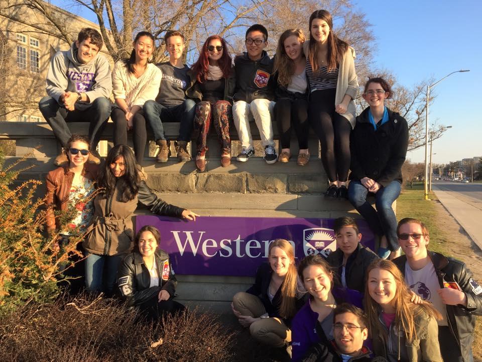 Western University Chapter   meet the team.