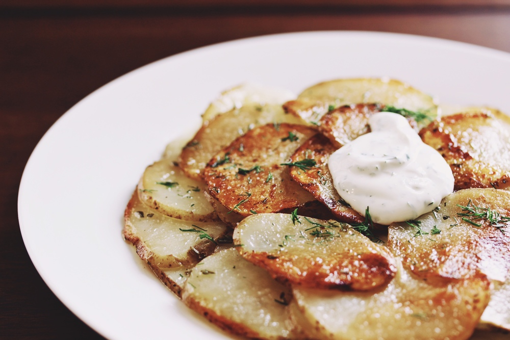 Rosemary potato galette for brunch - The Pastiche