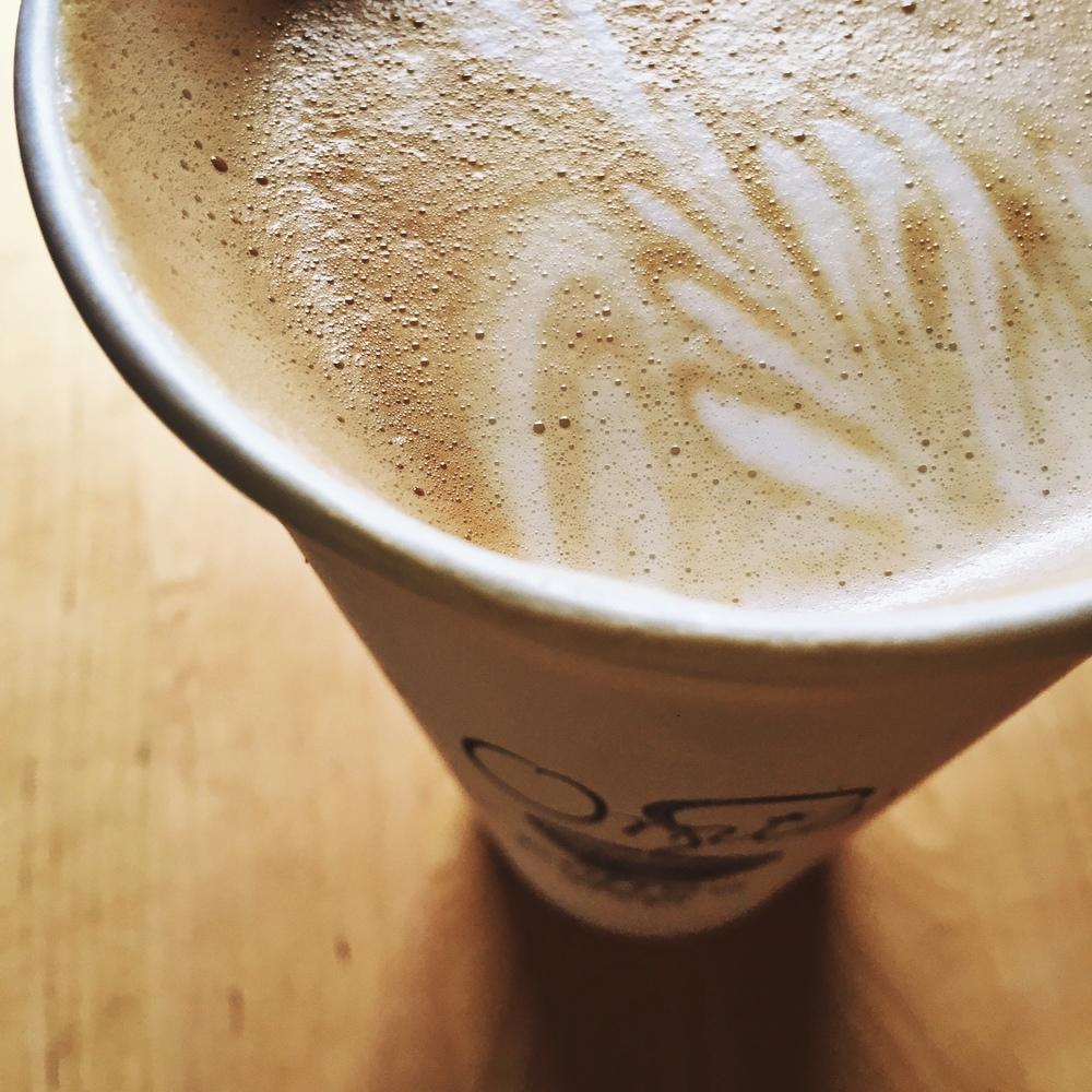 Omi's latte - Portland, Maine