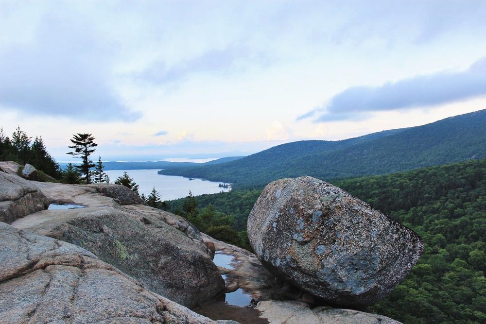 Bubble Rock, Acadia National Park - The Pastiche