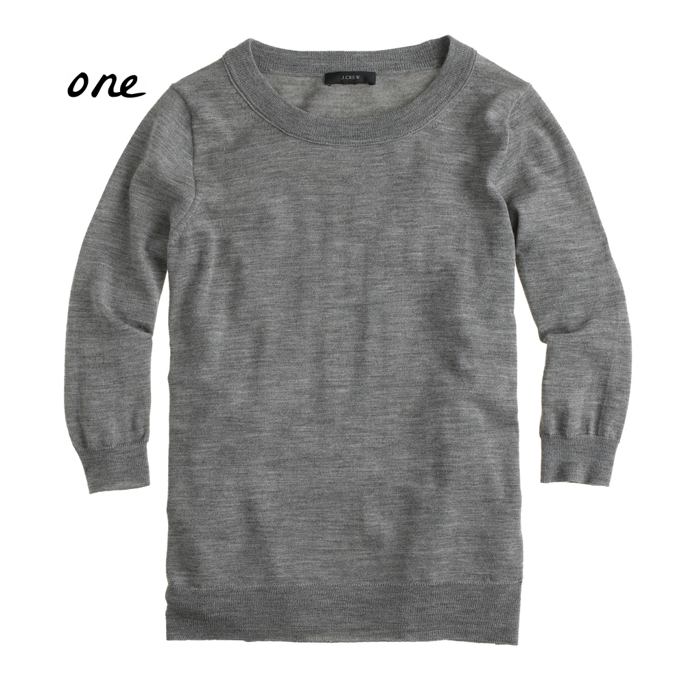 Merino wool sweater - J.Crew